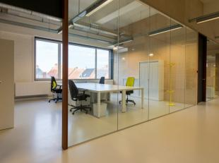 Moderne gemeubelde kantoren (van 22 m² tot 34 m²) voor startende ondernemers (tot vijf jaar opgestart in hoofdberoep) met professioneel uitg