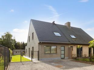 Je bent op zoek naar een recente (2016), moderne woning gelegen in een landelijke omgeving (Sint-Kruis-Winkel) en niet ver van de stad Gent? Dan is de