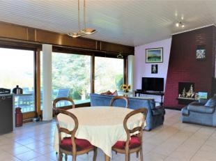 Agréable bungalow 2 à 3 chambres avec garage, terrasse et jardin + une parcelle de terrain (1.101m²) en zone d'habitat à car