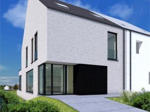 Deze moderne woning werd ontworpen op een perceel van 558 m²door architectenduo Strobbe  & Doclo.<br /> De bruto bewoonbare oppervlakte bedra