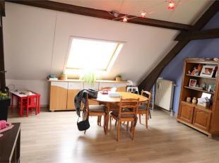 Voor een bezoek of meer info bel 054/69.39.35 - In Geraardsbergen biedt Topo-Immo dit goed gelegen dakappartement aan. Het centrum bevindt zich op 1 k