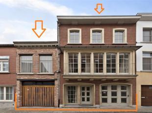 Voor een bezoek of meer info bel 054/69.39.34 - In een rustige straat nabij het centrum bevindt zich deze op te frissen, karaktervolle woning op een p