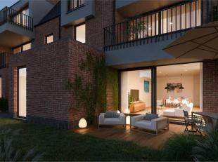 Dit nieuwbouwappartement (110,44 m²) in het landelijke Schendelbeke gelegen in een kleine residentie van 9 appartementen.<br /> Dit appartement i