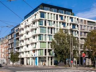 Uitzonderlijk appartement van ca 80m2 gelegen op de 5de verdieping in de oogverblindende residentie Melopee.<br /> De realisatie van de hand van Binst