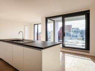 Totaalrenovatie 2-slaapkamer appartement met terras.<br /> In een volledig gerenoveerd gebouw vinden we dit appartement terug op de tweede verdieping,