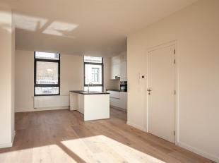Gerenoveerd 2-slaapkamer appartement met terras.<br /> In een volledig gerenoveerd gebouw vinden we dit appartement terug op de derde verdieping, met