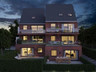 Nieuwbouwappartementen met 2 slpks en terras/tuin in kleinschalig project (E-peil 40).Residentie Iberia zal finaal worden opgeleverd in mei 2020. Alle