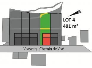 Perceel van 491 m² voor half open bebouwing, rustig gelegen in Sluizen, tuin met zuid-gerichte bezonning. Bouwoppervlakte van 135 m² en kan