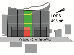 Perceel van 495 m² voor half open bebouwing, rustig gelegen in Sluizen, tuin met zuid-gerichte bezonning. Bouwoppervlakte van 135 m² en kan