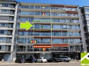 Dit appartement is gelegen op de vierde verdieping en kijkt uit over de stad en de groene Wallen.<br /> Inkomhal met doorgang naar de ruime woonkamer.