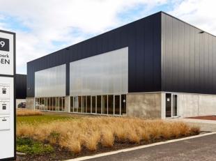MULTIFUNCTIONELE BEDRIJFSHAL in het nieuwe bedrijvenpark PRINSEN, gelegen op het industrieterrein Overhaem, Prinsenweg 9.<br /> Strategisch gelegen aa