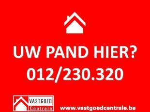 Contacteer ons vrijblijvend voor een GRATIS schatting van uw pand via 012/230.320 of via info@vastgoedcentrale.be