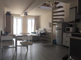 Bekijk de Aktimmo Virtual Tour ( AVT ) op onze website!<br /> <br /> Duplex appartement met zeer centrale ligging.<br /> <br /> Met woonruimte, open k