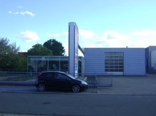 Dit bedrijfspand is gelegen langsheen de Oude Watertorenstraat 25 te 3930 Hamont.<br /> Het pand is dienstig geweest als publiciteitskantoor en atelie