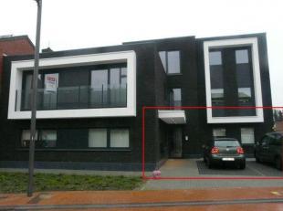 Gelijkvloers appartement met 2 slaapkamers in een nieuwbouw met een hedendaagse architectuur, gelegen in een zeer rustige buurt en toch in het centrum