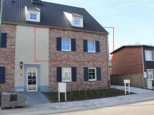 Prachtig nieuwbouw appartement met lift te Sint-Huibrechts-Lille centrum, kortbij winkels, school, ... . Het appartement bestaat uit inkomhal, 2 slaap