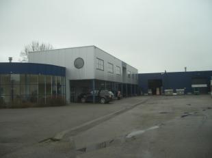 Bedrijfsgebouw met burelen, loodsen en hangar op 1.1 ha<br /> <br /> ALGEMEEN:<br /> - bouwjaar 2000<br /> - oppervlakte: +/-11051m²<br /> - verw