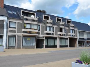 Gezellig appartement met één slaapkamer op de tweede verdieping. Indeling : inkomhall, woonkamer met terras, keuken (keukenmeubel, kookv