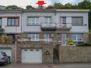 EMBOURG - CHENEE Maison 2 chambres, bureau, salle de bains, séjour, cuisine, grand garage en L, jardin + 1 garage et parking 5 voitures + p&aci