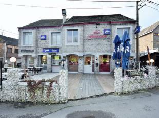 Cet immeuble mixte comprend deux entités Horeca et de lhabitat. Le restaurant et la brasserie sont actuellement exploités via une conven
