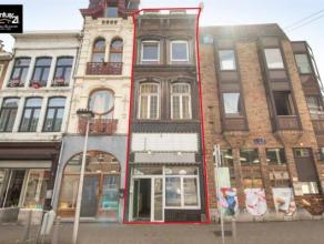 LIEGE : Avis aux investisseurs, n'hésitez plus à venir visiter cet immeuble mixte situé dans une rue commerçante du centre
