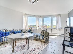 LUIK: appartement met 2 slaapkamers op de 4e verdieping in een gebouw dat het onderwerp is geweest van vele renovaties en dat zich in een zeer goede s