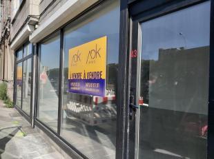 Liège : ADK Immo vous propose à la vente cette belle surface commerciale de 125m² + 40m² de caves privatives doté d'une