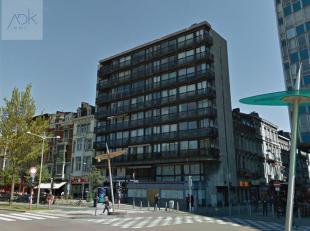 Hyper centre de Liège : studio lumineux idéalement situé à l'angle de la rue Pont d'Avroy et du Boulevard de la Sauveni&eg