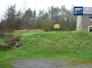 Terrain de 1022 m² en zone d'habitat. Situation calme avec un fond de jardin de plus de 2000 m²Un n° 0477300985