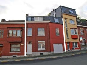 Angleur: situé dans le quartier Péralta, immeuble de rapport en ordre d'urbanisme composé de 3 appartements 2 chambres meubl&eacu