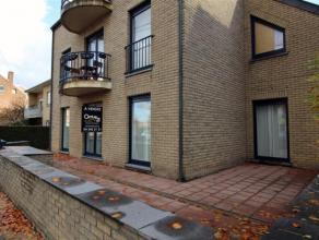 Liège - Wandre: bel appartement de rez-de-chaussée en parfait état composé de 2 chambres, cuisine équipée, s