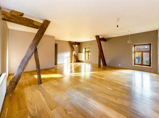 Magnifique penthouse de 194 m² habitables entièrement remis à neuf au cur dune vaste et agréable ferme dans le village de St