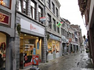 Situé au centre de Huy, à proximité directe de la grand-place, un charmant appartement de 55 m² en très bon ét