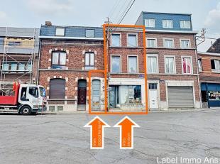 Maison en cours de rénovation/transformation en un appartement + une maison. Un appartement rdc 1 ch, cuisine, séjour, salle de bain, co