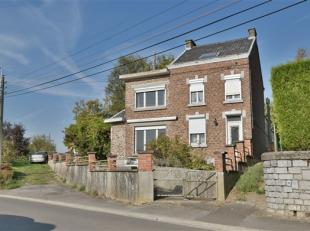 Située dans un agréable quartier résidentiel, maison à rénover de +- 145 m² habitables avec garage, éri