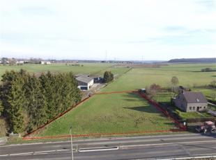 Magnifique parcelle de terrain de +-2180m² disposant d'une vue magnifique sur les campagnes Condruzienne. Façade à rue de 50m. Bell
