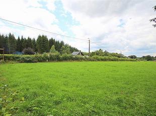 Le bureau OPPIDUM vous invite à acheter, dans le Parc Naturel des Hautes Fagnes, ce grand terrain à bâtir de 12 958 m² dont 1