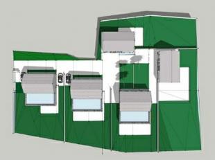 Proche du centre de Tiège et des axes autoroutiers, terrain à vendre d'une superficie de 4380m² avec projet de 8 entités r&e