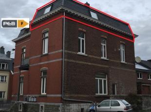 Appartement 2ème étage rue Léopold 1, Welkenraedt : 1 chambre, salle de douche, coin cuisine, living. Divers : emplacement parkin