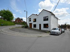 HERVE (Centre) : Maison avec garage  vendre Dans le centre de Herve et au cur du Plateau, maison  rafraichir composée de 1 chambre  coucher (2