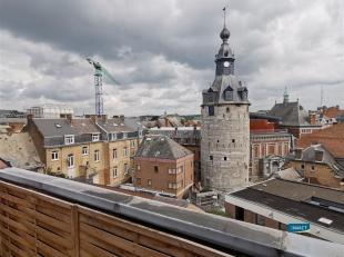 NAMUR : Galerie Jardin d'Harschamp 4 : appartement 1 chambre entièrement rafraichi  sis au 5ème étage de la Seigneurie (ré