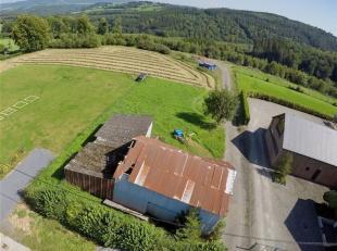 Maisons & Chalets d'Ardennes vous propose ce terrain de 11a96 en zone habitable dans le petit village très calme de Gènes à R