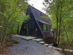 PARC SUNCLASS: nouveau bungalow à vendre dans le très beau parc boisé Durbuy Sunclass à seulement quelques minutes du cent