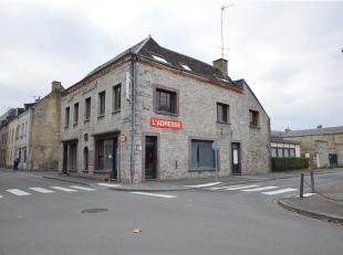 Faire offre à partir de 130.000<br /> GIVET (France), bel immeuble de +/- 420m² en pierres comprenant au rez, grand espace commercial/ Hor