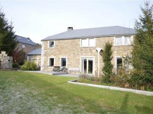 Faire offre àpd 395.000  - Idéalement située entre Durbuy, Marche-en-Famenne et La Roche, sur un terrain de +/- 11a, belle maison