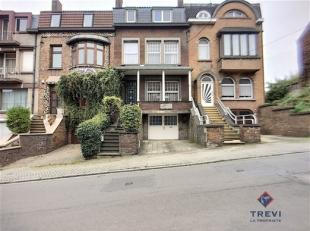 A vendre à Marcinelle à 240.000 euro Magnifique maison bourgeoise Art Déco façon bel étage avec garage et jardin Fa