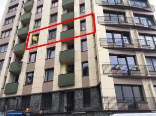 APPARTEMENT SITUE AU 4EME ETAGE DANS ''LA RESIDENCE PALAIS''<br /> 071/30.67. 90 | www.immoinvest.be<br /> Descriptif:<br /> Appartement situé