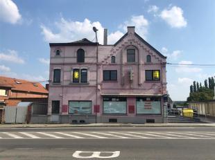 <br /> REZ-DE-CHAUSSEE COMMERCIAL DE 275 m²<br /> 071/30.67. 90   www.immoinvest.be<br /> Descriptif:<br /> Rez-de-chaussée commerci