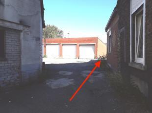 """""""VENDU"""" Un garage à vendre Offre à partir de 8500,00euro à Montignies -sur-Sambre dans un lotissement de garage .<br /> Le RC: 69"""