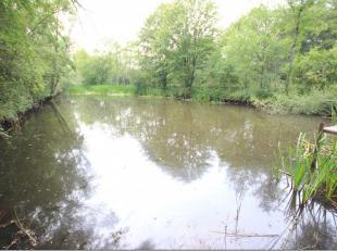 Entre Mariembourg et Fagnolle beau terrain clos de 49 ares 70 centiares et étang. Cadastrés en nature de pré et étang, cet
